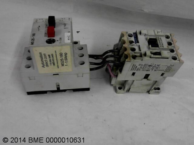 Automation Direct 600 Max V Ms25-160 Starter  Gh15Bn Contactor Combo