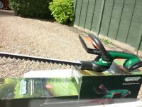 New Qualcast 18v cordless hedge trimmer