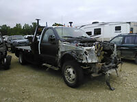 salvage Ford F550 2002