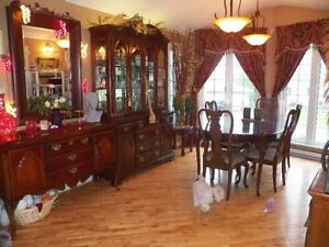 Solid Cherry Dining Room