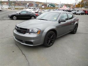 2013 DODGE AVENGER BLACK TOP