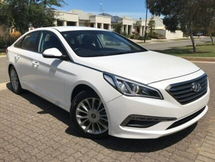 2014 Hyundai Sonata LF Active White 6 Speed Sports Automatic Sedan