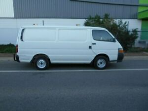 2001 Toyota HiAce RZH113R LWB White 5 Speed Manual Van Beverley Charles Sturt Area Preview