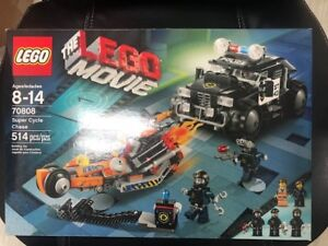 Retired Brand New Lego Movie Super Cycle Chase Lego Set 70808
