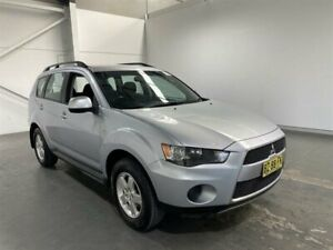 2012 Mitsubishi Outlander ZH MY12 LS Silver 6 Speed CVT Auto Sequential Wagon Beresfield Newcastle Area Preview