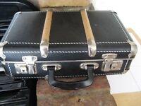 Black travel suitcase
