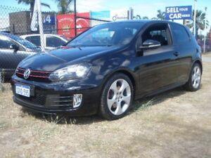 2011 Volkswagen Golf 1K MY12 GTi Black 6 Speed Direct Shift Hatchback Wangara Wanneroo Area Preview