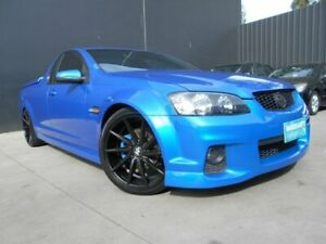 2011 Holden Commodore VE II MY12 SV6 Blue 6 Speed Manual Utility Fawkner Moreland Area Preview