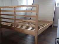 Ikea Double Bed Frame and Slats FREE