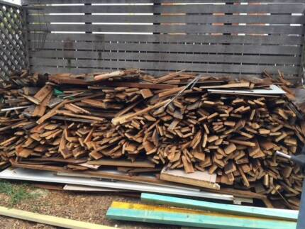 Firewood -  FREE!  Old cypress pine floor boards 110 sqm