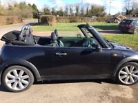 Mini Cooper Convertible - 2007 - Black - Low mileage - Mint condition