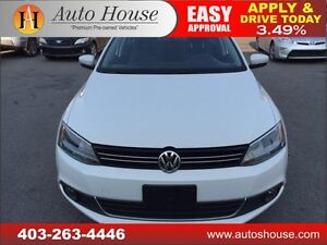 2013 Volkswagen Jetta Sedan highline auto leather roof low km