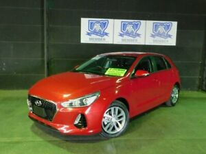 2018 Hyundai i30 PD MY18 Active Fiery Red 6 Speed Sports Automatic Hatchback Albion Park Rail Shellharbour Area Preview