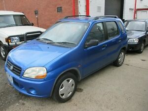 2001 Suzuki Ignis RG413 GL Blue 4 Speed Automatic Hatchback Tottenham Maribyrnong Area Preview