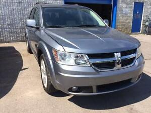 2010 DODGE JOURNEY R/T AWD, Leather, Roof Rack, Alloys!!