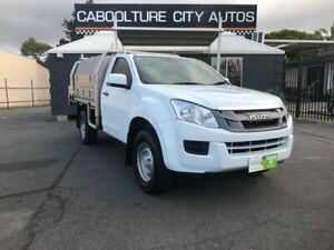 2015 Isuzu D-MAX TF MY15 SX HI-Ride (4x2) White 5 Speed Automatic Cab Chassis Morayfield Caboolture Area Preview