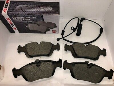 Front Brake Pads Fits BMW E46 3 Series 1998-2005...With Sensor Wire Included