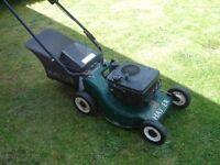 Hayter Hunter petrol mower lawnmower