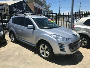 2012 Peugeot 4007 MY12 SV DCS Auto HDi Silver 6 Speed Sports Automatic Dual Clutch Wagon St James Victoria Park Area Preview