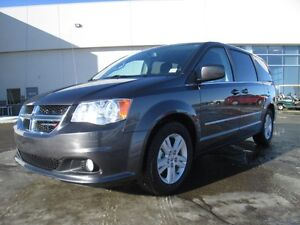 2016DODGE GRAND CARAVAN CREW PLUS. tHIS ONE HAS ALL THE BELLS A