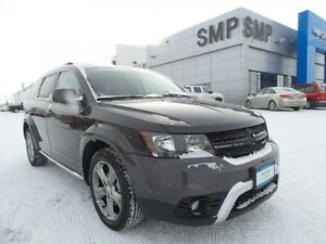 2016 Dodge Journey Crossroad AWD, 7 passenger, leather, sunroof,