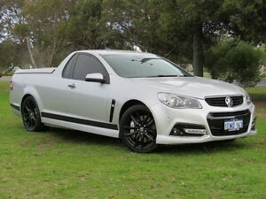 2014 Holden Ute VF SS-V Redline Silver 6 Speed Automatic Utility East Rockingham Rockingham Area Preview