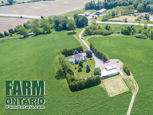 162 Acre Farm with Modernized Home in Private Setting By Bayham