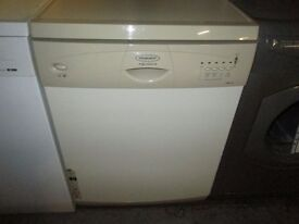 ***BARGAIN***cream hotpoint dishwasher+very clean+1 MONTH WARRANTY+FREE DELIVERY+ dishwasher ***