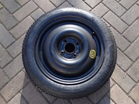 Spare Wheel with tyre Continental 125/80 R15 unused from Ford Focus