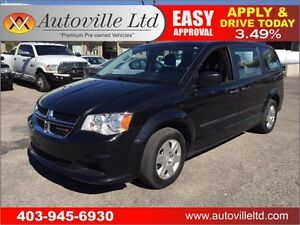 2013 Dodge Grand Caravan low low km ALL CREDIT ACCEPTED
