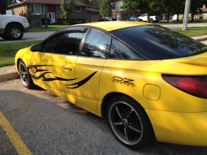 SATURN SC2, 2001, TOP OF LINE STOCK MODIFIED