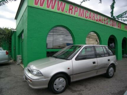 1993 Holden Barina MH Silver 3 Speed Automatic Hatchback
