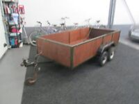 8/4 box trailer twin wheel very good condition £299