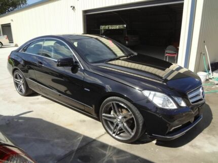 2010 Mercedes-Benz E250 207 CGI Avantgarde Black 5 Speed Automatic Coupe Oxley Brisbane South West Preview