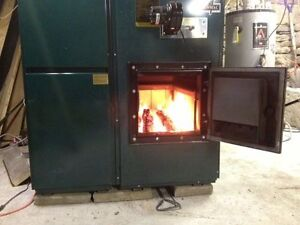 wood oil combined furnace