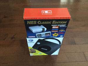 NES CLASSIC EDITION ** AND GAMECUBE WITH ZELDA GAMES !!
