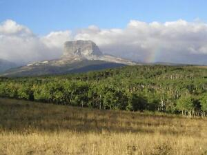 86 acres Foothills Parkland region near Waterton.