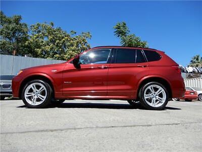 2012 BMW X3 35i BMW X3 F25 M SPORT PREMIUM TECH PACKAGE NAV SIRIUS COMFORT ACCESS NO RESERVE