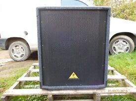 Subwoofer for P.A. System One Behringer B1800X