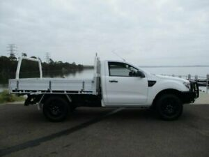 2012 Ford Ranger PX XL 2.2 (4x4) White 6 Speed Manual Cab Chassis Dapto Wollongong Area Preview