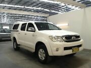 2009 Toyota Hilux GGN25R 08 Upgrade SR5 (4x4) White 5 Speed Automatic Dual Cab Pickup Beresfield Newcastle Area Preview