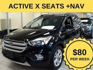 2019 Ford Escape SEL|NAV|ACTIVEX SEATS|$80/WK|PWR LIFTGATE
