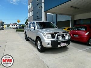 2007 Nissan Navara D40 ST-X (4x4) Silver 5 Speed Automatic Dual Cab Ascot Brisbane North East Preview