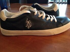 Men's US Polo Brand New Unworn Leather Shoes/Trainers