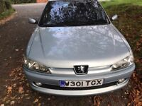 PEUGEOT 306 ONE YEAR MOT DRIVES PERFECT NO FAULTS CHEAP RELIABLE RUNAROUND