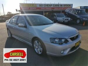 2007 Ford Falcon BF Mk II XR6 Silver 4 Speed Sports Automatic Sedan Campbelltown Campbelltown Area Preview