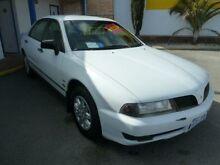 2001 Mitsubishi Magna TJ Executive White 4 Speed Automatic Sedan Wangara Wanneroo Area Preview
