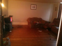 large two bedroom Uptown off street parking