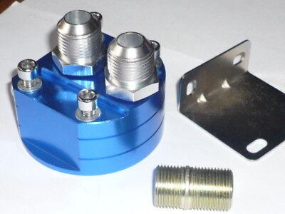 Remote oil Filter Adaptor JACKMASTER AN10 Filter Head Ryco Z154 18mm thread