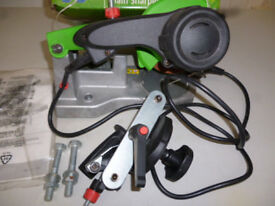 ELECTRIC CHAINSAW CHAIN SHARPENER (NEW)